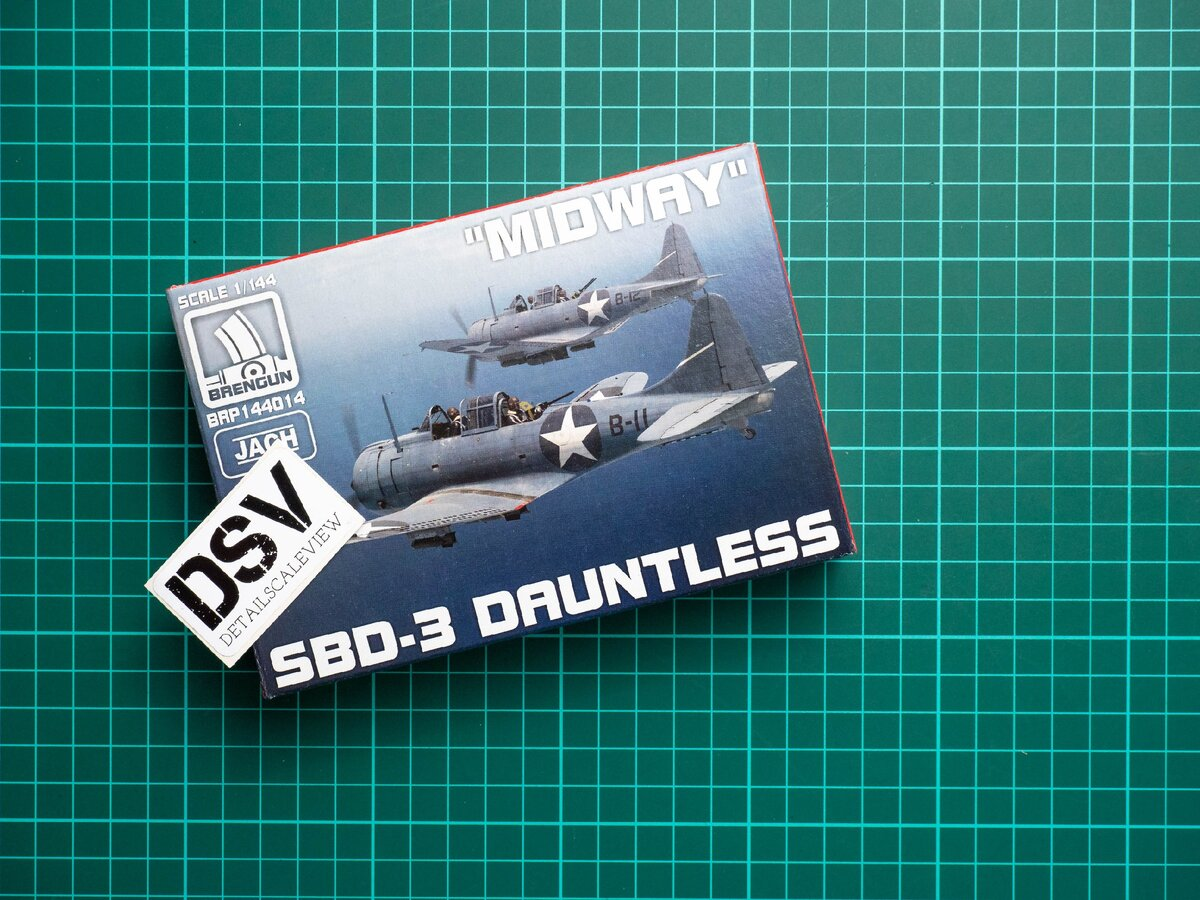 Brengun 1/144 SBD-3 Dauntless (BRP144014)