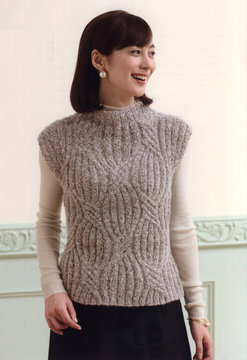 Дизайн из журнала LET'S KNIT SERIES №80554 2017-2018