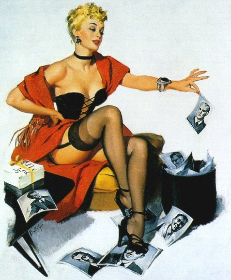 Gil Elvgren & Pin-Up