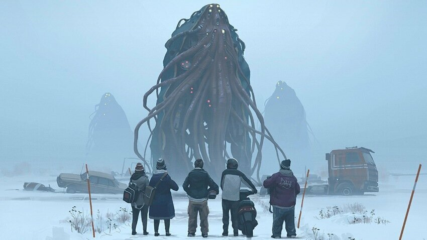 "Simon Stålenhag ""Tales from the Loop"""
