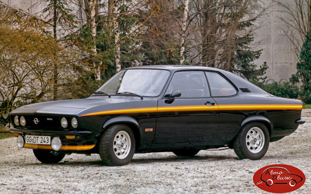 Opel Manta A - «Black Magic»