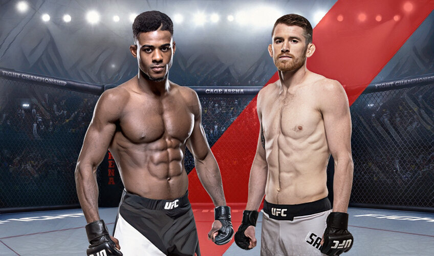 Aljamain Sterling and Cory Sandhagen