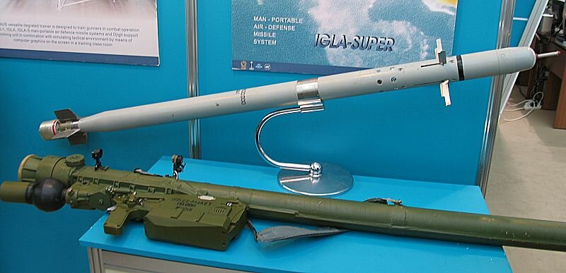 Igla-S portable anti-aircraft missile systems