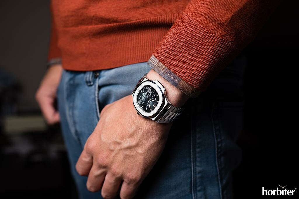 How the watch looks on the wrist