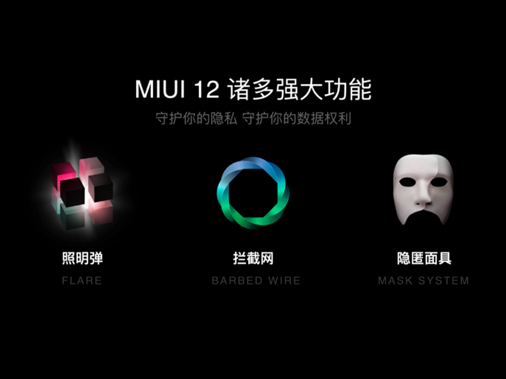 MIUI 12 Mask System