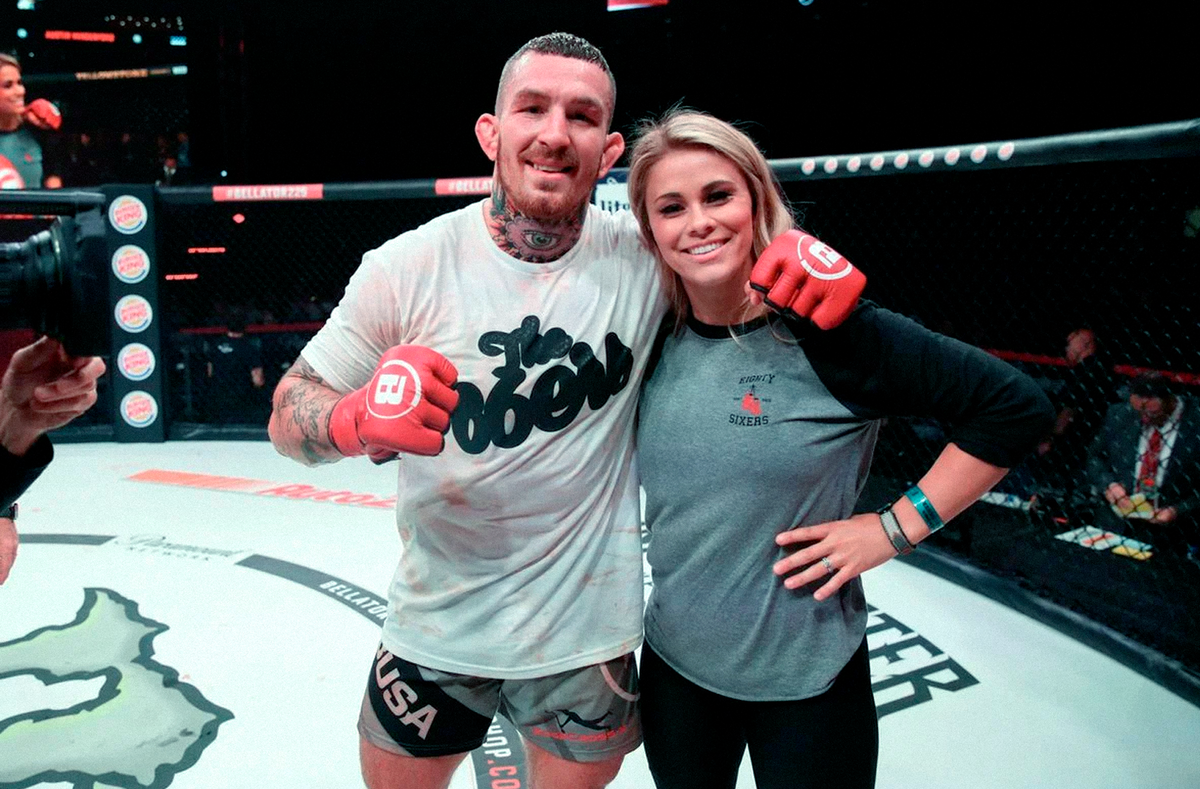 Austin Vanderford confesses how difficult it was for him to watch his wife Paige VanZant in bare-knuckle boxing