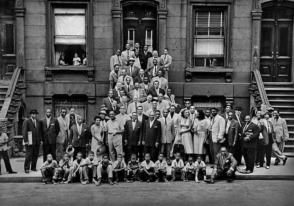 Great Day in Harlem (photo © Art Kane, 1958)