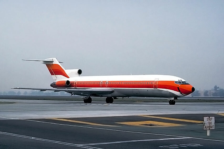 Continental Airlines 727