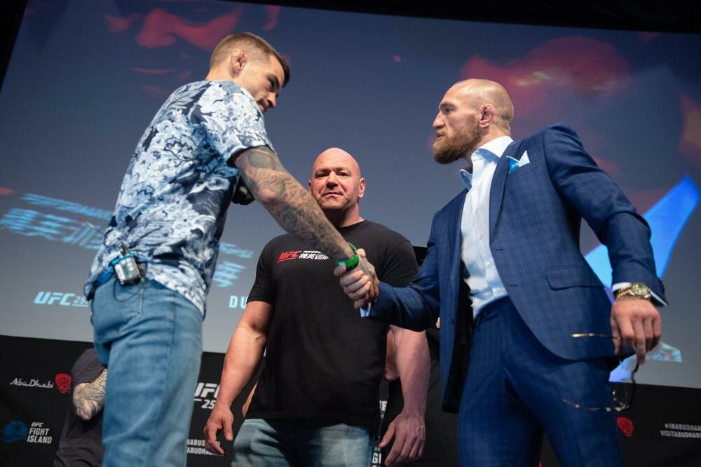 McGregor and Poirier's fees for fight at UFC 257 revealed