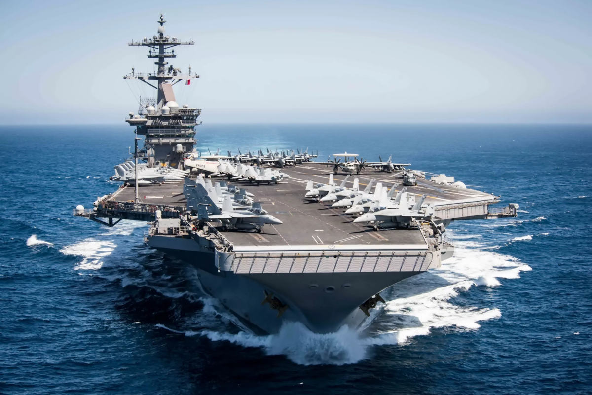 Top 5 largest aircraft carriers in the world