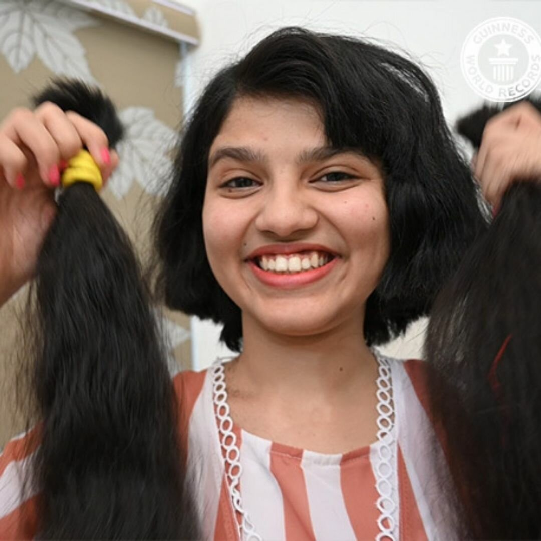 Источник: www.guinnessworldrecords.com/news/2021/4/teen-with-worlds-longest-hair-cuts-it-off-after-12-years-of-growing-it-655428