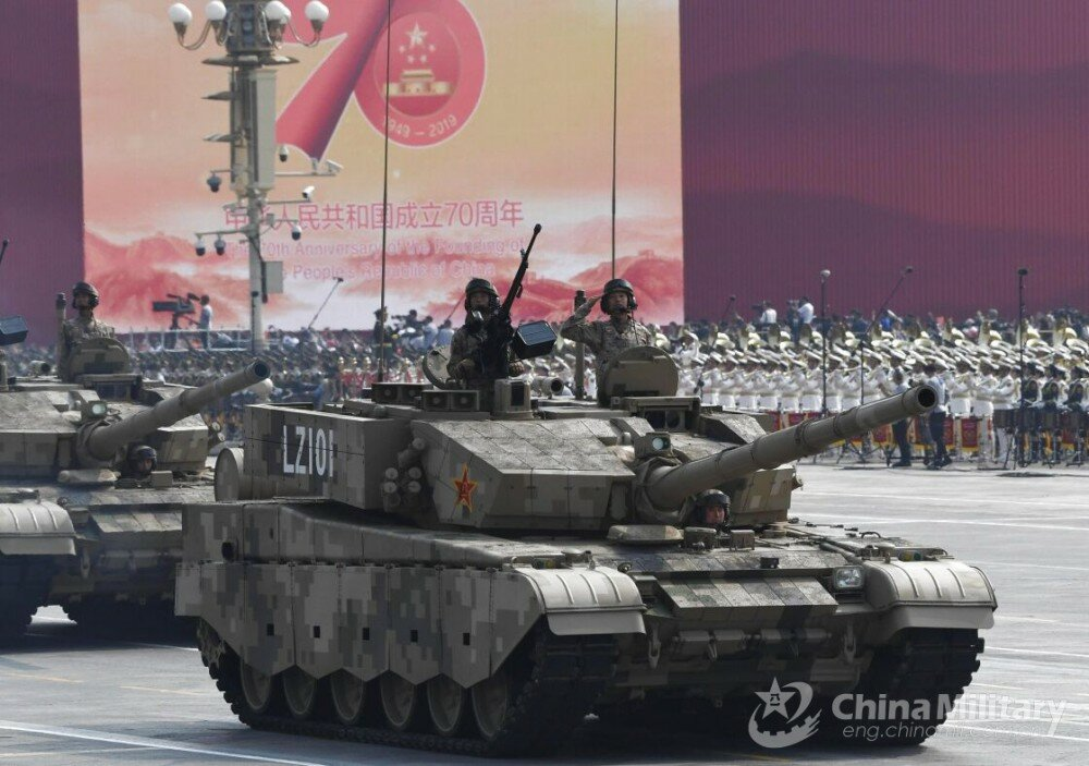 PLA Type-99 MBT during Military Parade