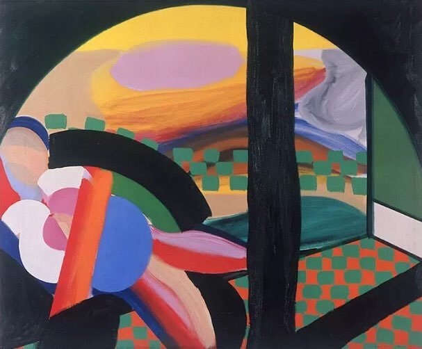 'Mrs Acton in Delhi' (1967-71) © Howard Hodgkin/Gagosian