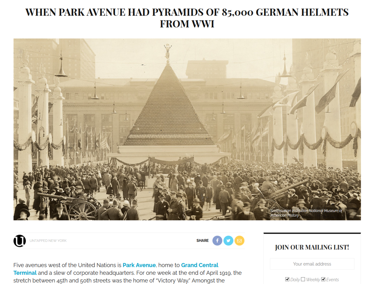 https://untappedcities.com/2019/11/11/when-park-avenue-had-pyramids-of-85000-german-helmets-from-wwi/?share=facebook