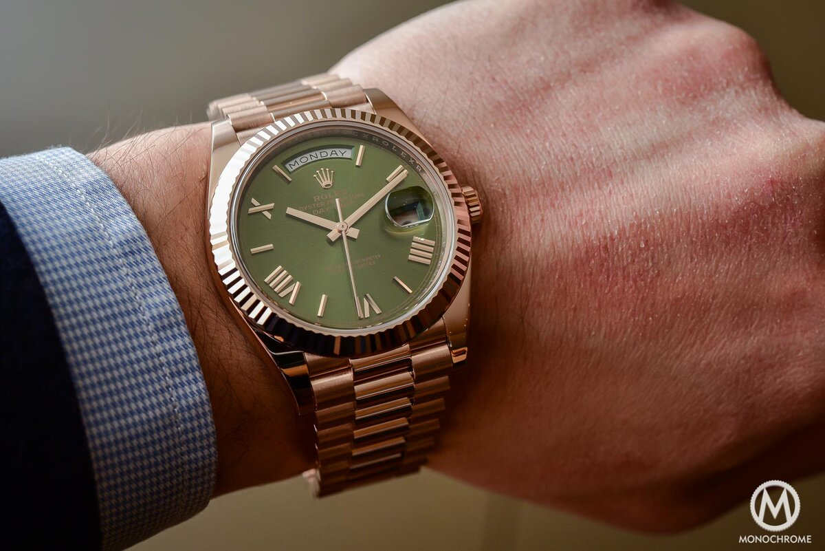 How These Gold Datejust Looks On Your Wrist
