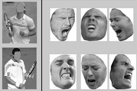 [1] Don't read my lips! Body language trumps the face for conveying intense emotions http://www.princeton.edu/main/news/archive/S35/82/65G58/index.xml?section=science