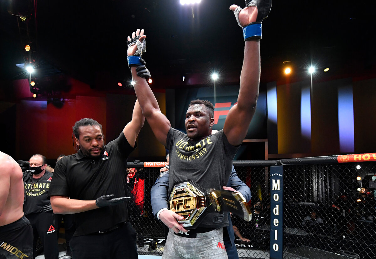 UFC news: Francis Ngannou responded to the UFC president about the interim title