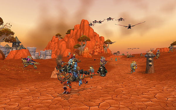 Скриншот из игры World of Warcraft.  © Blizzard Entertainment
