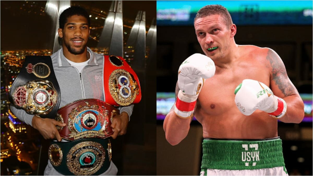 Boxing news: Anthony Joshua and Olexander Usyk held open training sessions before the fight. Video