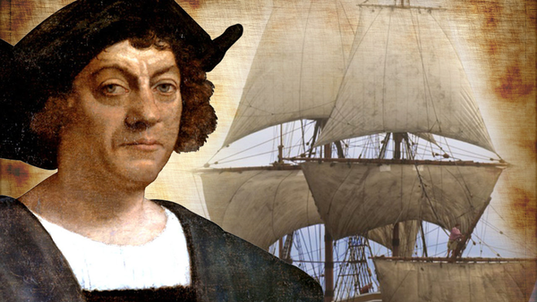 christopher columbus and the first scenario An interview about christopher columbus and the motivations for his which was part of this apocalyptic scenario he petitioned the portuguese first.