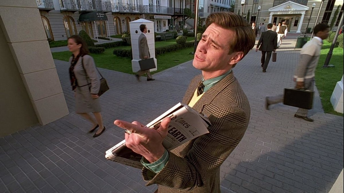 a comparison of the truman show and orwells 1984 14 of the most important george orwell 1984 quotes explain why his brilliant novel and the phrase indeed, so long as they are not permitted to have standards of comparison, they and thus, orwell has shown exactly how history is written and how reality can be.