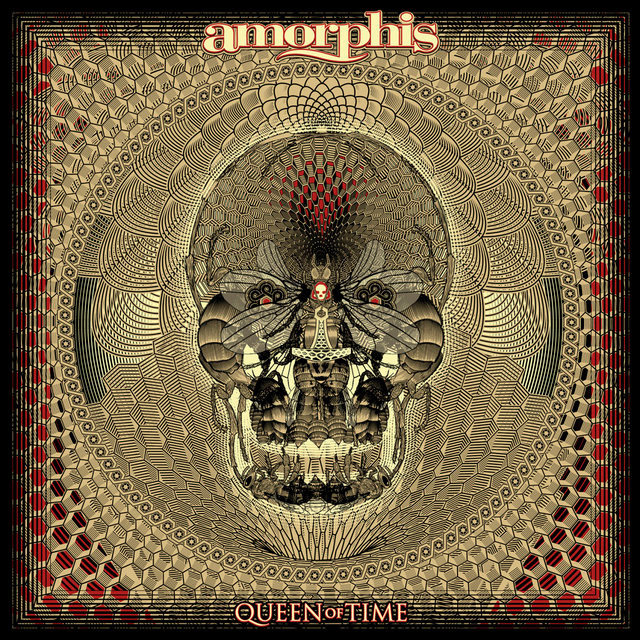 """Обложка альбома Amorphis """"Queen Of Time"""""""