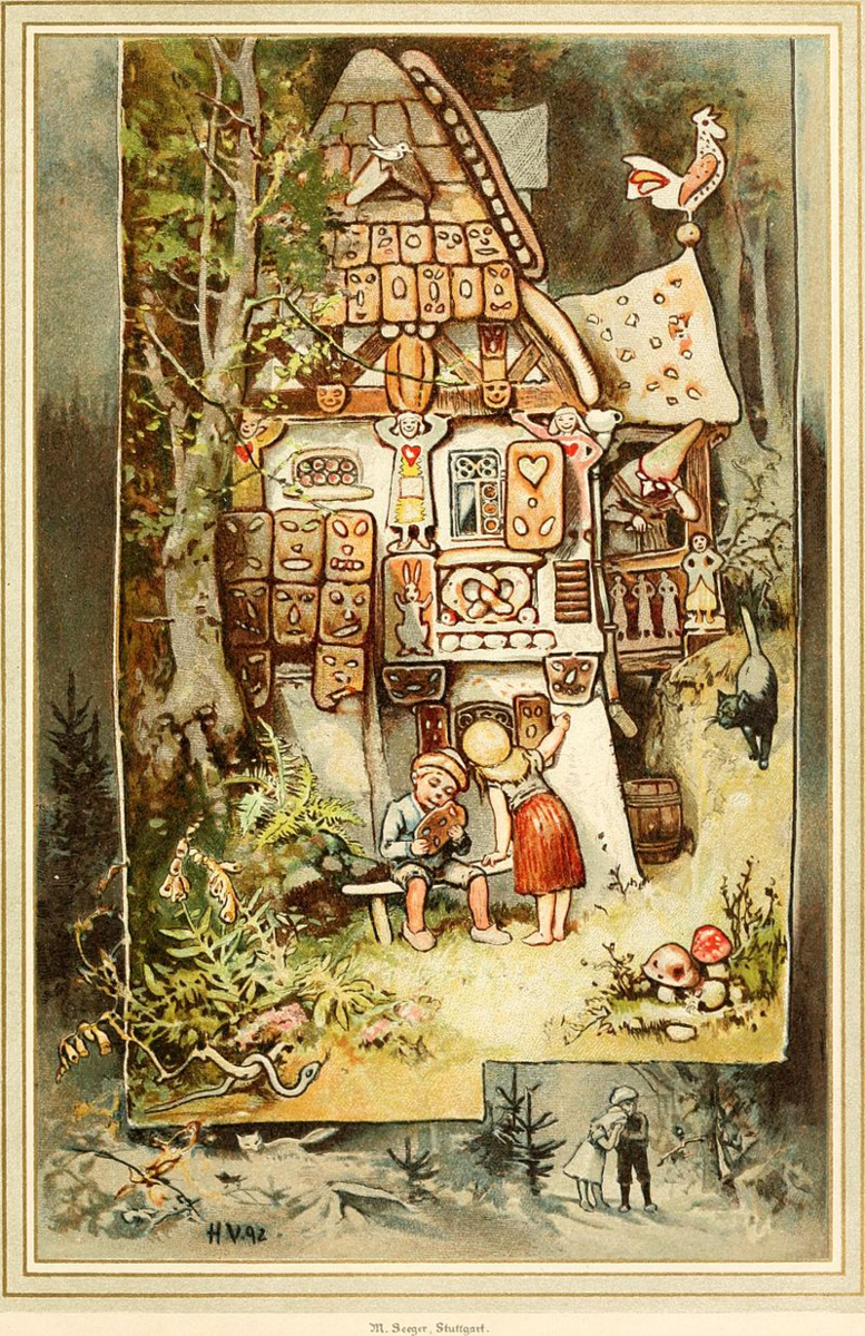 By Internet Archive Book Images - https://www.flickr.com/photos/internetarchivebookimages/14749907411/Source book page: https://archive.org/stream/kinderundgesamme00grim/kinderundgesamme00grim#page/n88/mode/1up, No restrictions, https://commons.wikimedia.org/w/index.php?curid=43521535