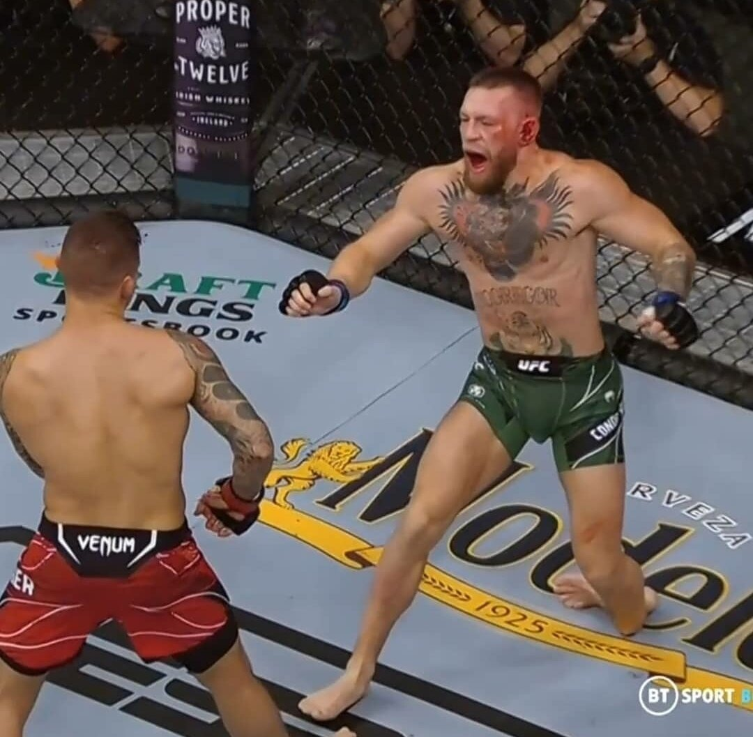 Conor McGregor posted his first post on social networks after losing in the trilogy with Dustin Porrier after UFC 264