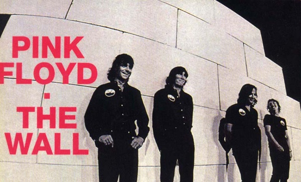 """""""The Wall"""" Pink Floyd"""