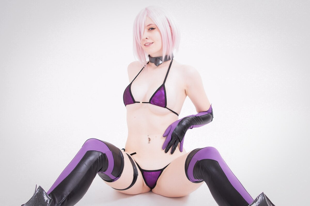 Cosplay [Q-ki] AU29 Mashu (Fate Grand Order)