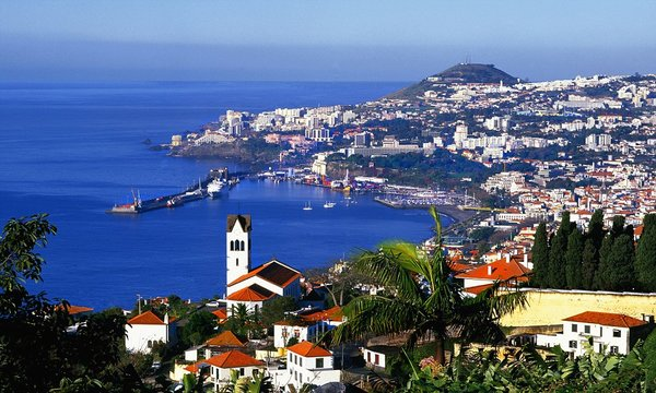 ShareApril 2007, Portugal --- View of Funchal --- Image by © Jose Fuste Raga/Corbis