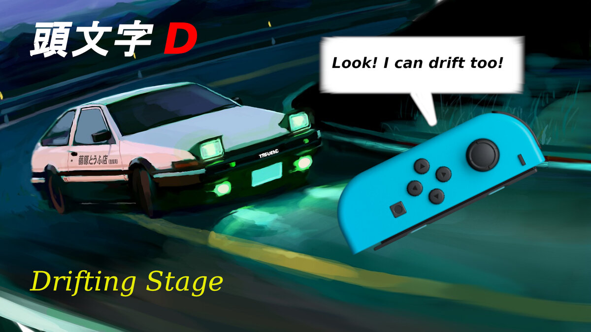 Initial D: Joy-Con 2.0 Stage