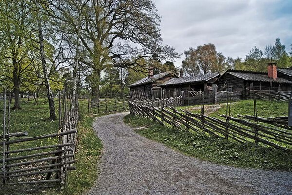 Этнопарк-музей Skansen (Источник фото: photosight.ru).