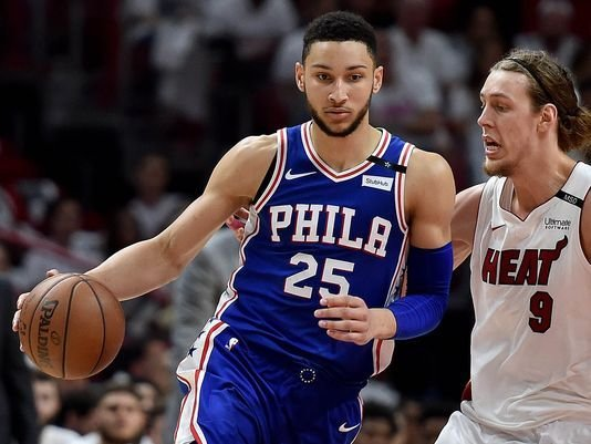 Simmons has a triple-double