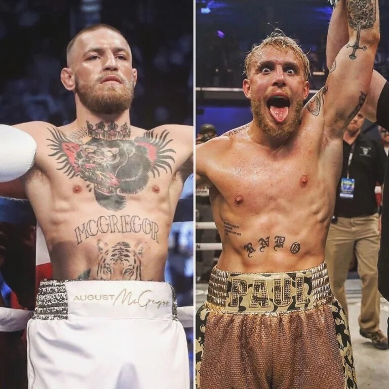 """Jake Paul: """"Conor McGregor needs a fight with me now more than I need a fight with him"""""""