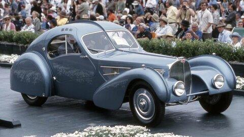 Bugatti Type 57SC Atlantic - самая дорогая машина
