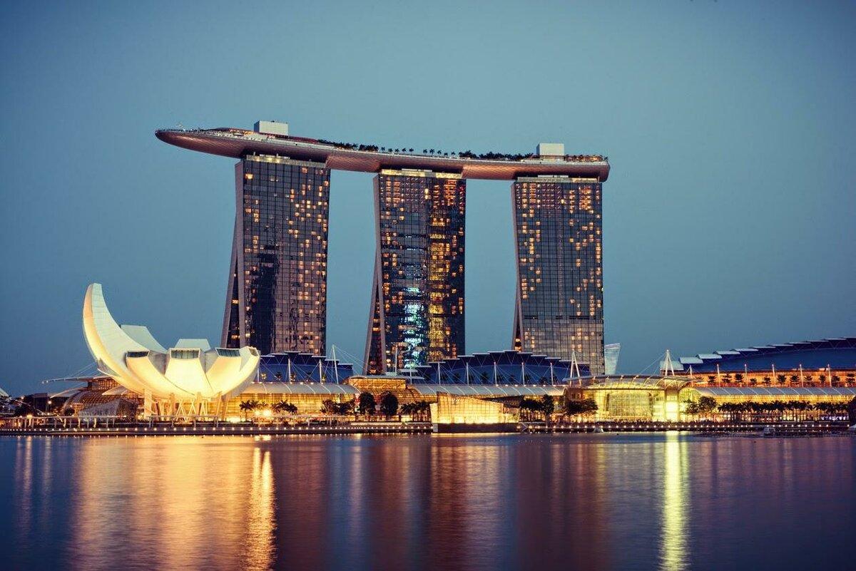 Отель марина бей сингапур фото