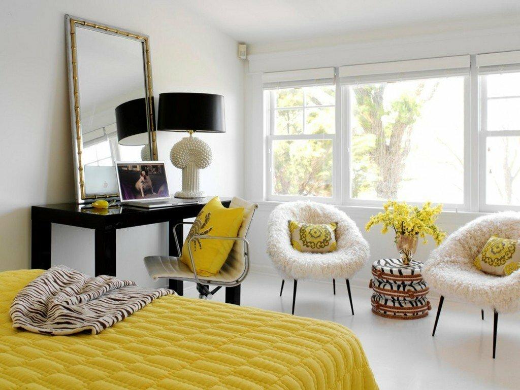 комната в желтом стиле картинки описание поймёте
