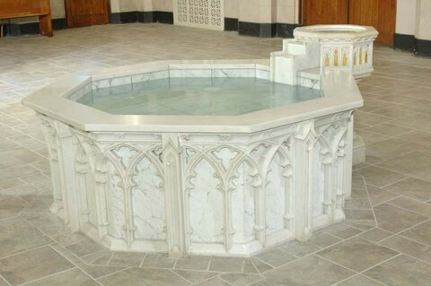 Image result for baptismal font