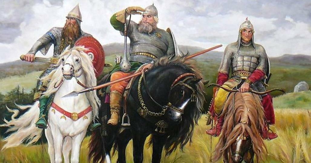тема картина богатыри период