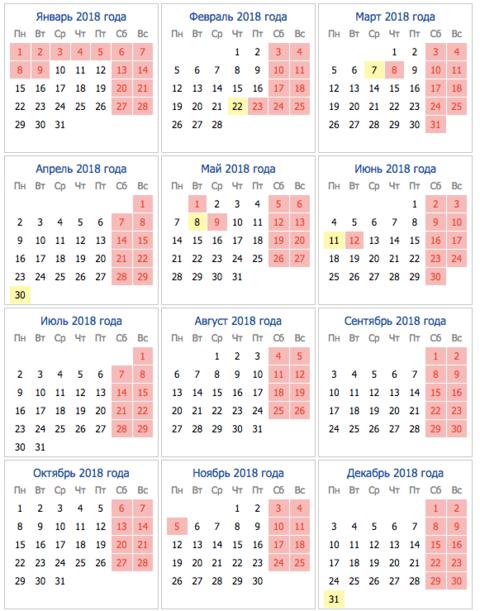 Какого числа в ноябре праздничные дни