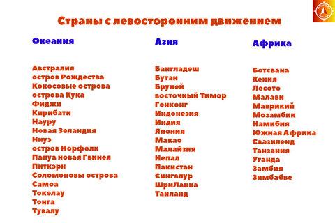 Страны с левосторонним движением 1.jpg