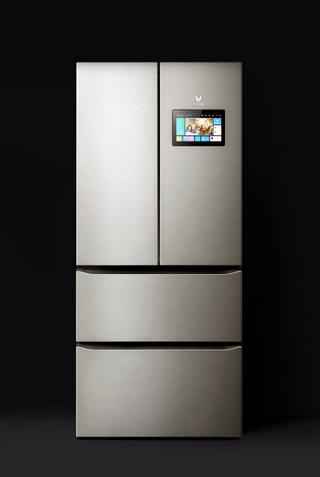 Внешний вид умного холодильника Viomi Intelligent French Four-door Refrigerator