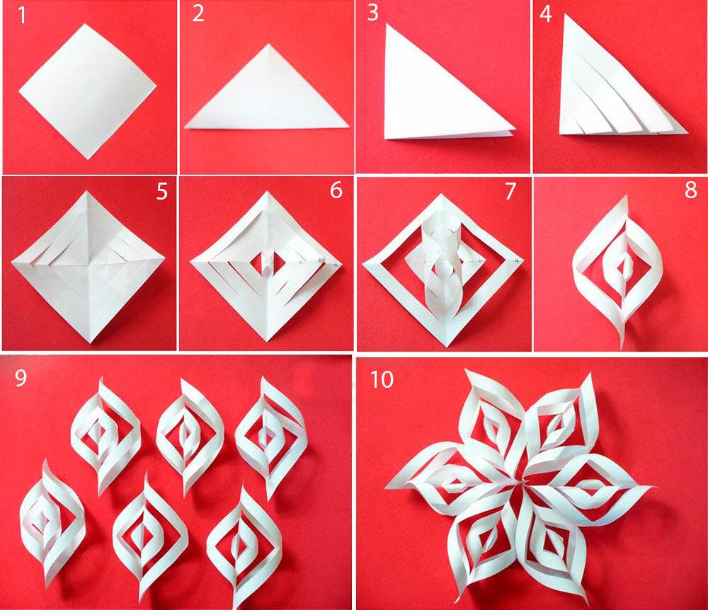 цивильно всегда как делать снежинки из бумаги пошагово фото ответственно нужно подходить