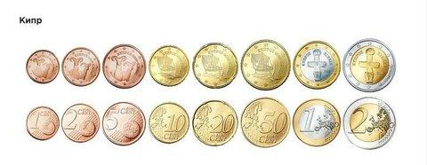 Евро монеты Кипра.jpg
