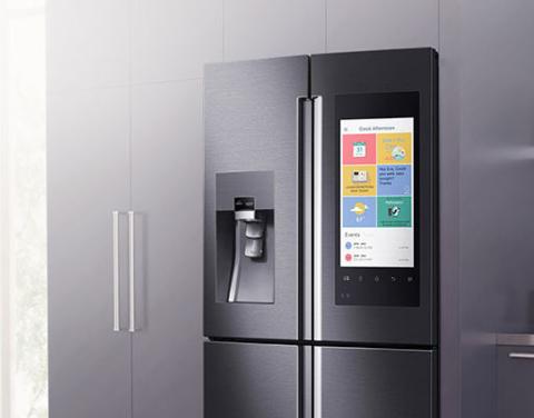 Внешний вид умного холодильника Samsung Family Hub