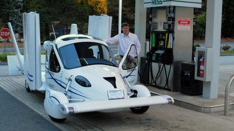 Terrafugia Transition: как автомобиль