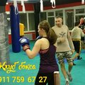 Занятие по боксу