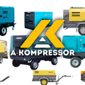 Компрессоры: Atlas Copco, Airman