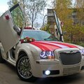 Американский танк на свадьбу  Chrysler 300С